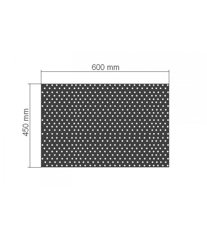 Grille de cabine à manches 600x450mm