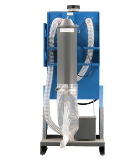 cabine de microsablage DM600 (face arrière)
