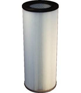 Cartouche filtrante polyester antistatique pour cabines de soufflage SF