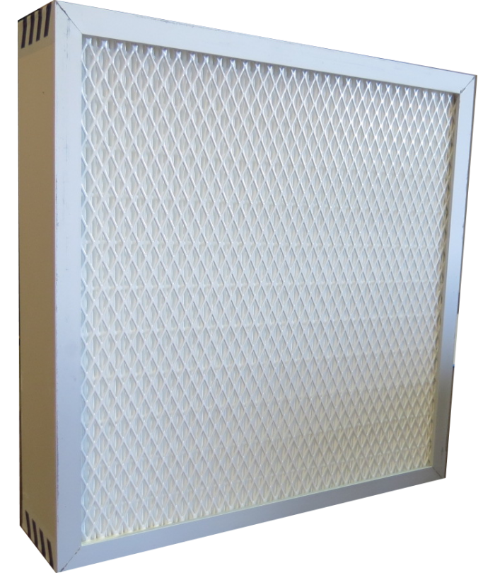 Cartouche filtrante HEPA pour cabines à manches