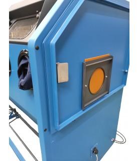 option ouverture sur porte pour cabine de sablage ARENA