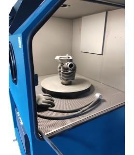 plateau tournant pour cabine de sablage microbillage ARENA
