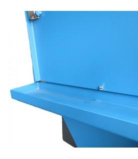 Gouttière de récupération bas de porte cabines de sablage ARENA