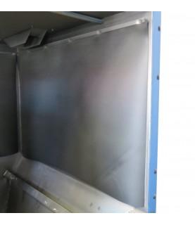 Rideau de protection pour intérieur des cabines à manches ARENA