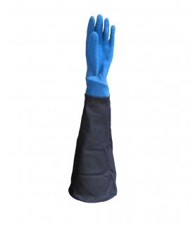 manche avec gant latex haute résistance pour cabine de sablage ARENA