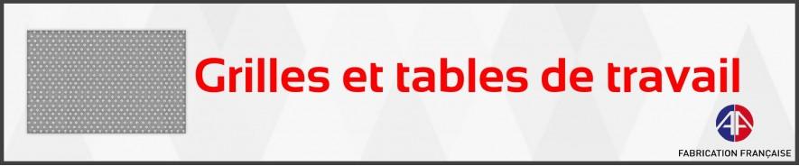 Grilles et tables de travail intérieures | ARENA